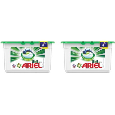 Ariel 3 in 1 Pods 15 counts dual 2 pc