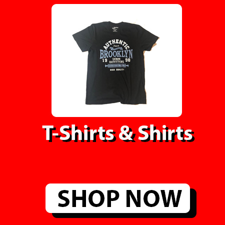 T-Shirts & Shirts For Men